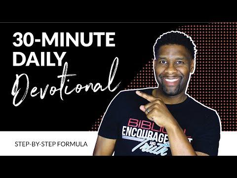 My SECRET Formula for a SIMPLE 30-Minute Daily Devotional