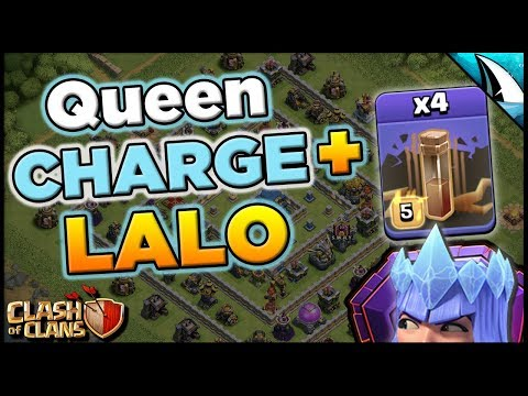 Queen Charge Lalo With 4 Earthquakes Is So Good! Incredibly Strong! | Clash Of Clans