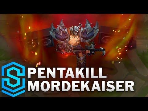 Pentakill Mordekaiser 2019 Skin Spotlight - League of Legends