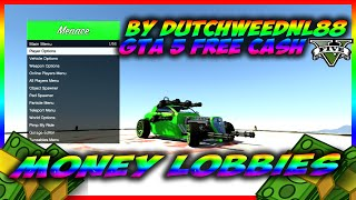 GTA 5/PS3 ONLINE MONEY LOBBY : *FREE* ''MODDED MONEY LOBBY'' - DUTCHWEEDNL88 IS BACK!!