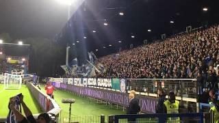 SPAL-Cagliari—CURVA OVEST IN AZIONE