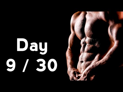 30 Days Six Pack Abs Workout Program Day: 9/30