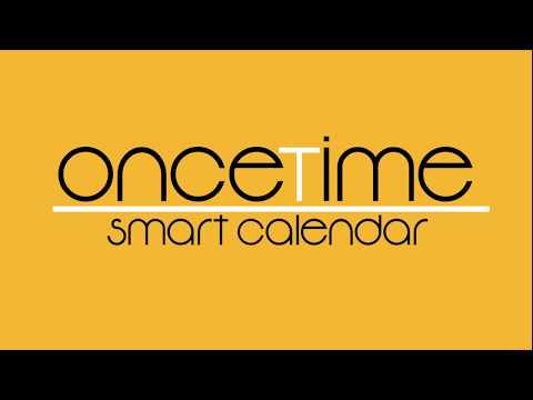 OnceTime - Smart Calendar (Window Blinds)