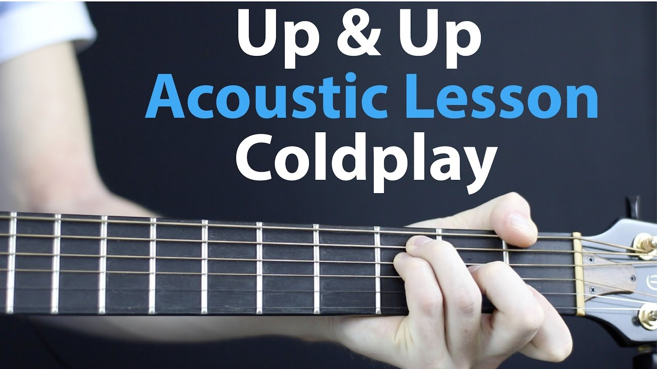 how to play coldplay yellow on electric guitar