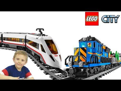 Лего поезда мультфильм смотреть