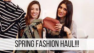 FASHION HAUL!!! Tanto shopping per la primavera!!!