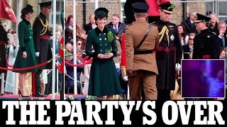 William and Kate Middleton at St Patrick