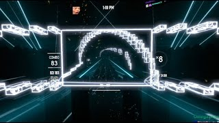 One of the COOLEST looking Beat Saber levels Getsix   Sky Fracture V P