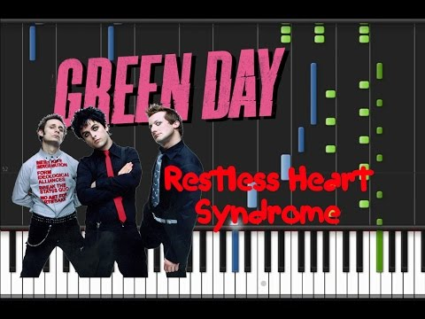 Green Day - Restless Heart Syndrome [Synthesia Tutorial]