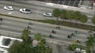"Web Video Extra: ""Wheels Up, Guns Down"" Riders Avoid Police In Miami-Dade County"