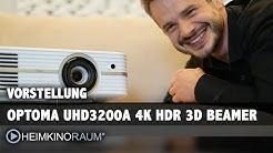 4K Beamer OPTOMA UHD3200A - Klassenbester 4K Projektor unter 2.000 Euro - Vorstellung und Test
