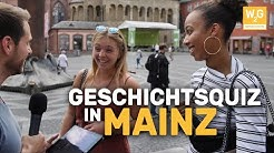 Knallhart getestet! Geschichts-Quiz in Mainz