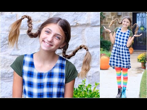 Dad Teaches How to Create Pippi Longstocking Braids