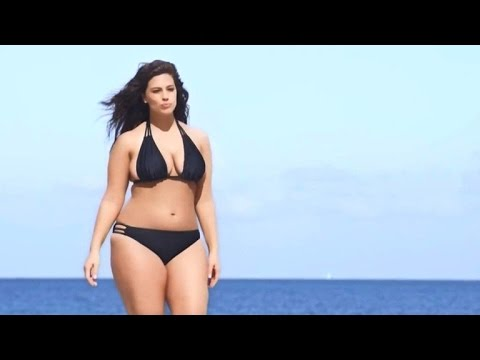Sports Illustrated swimsuit edition features ad with plus-sized model for first time