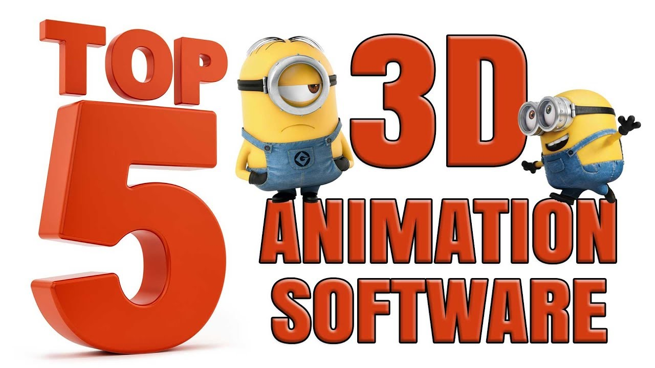 Top 5 3d Animation Software In 2020 Best 3d Modelling Software Animation Software Free Youtube