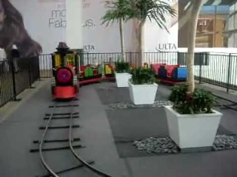Jackson Rides The Train At Westfield Culver City