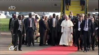 Arrivée du Pape François en Ouganda