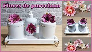 Flores de porcelana Diy – Artesanato