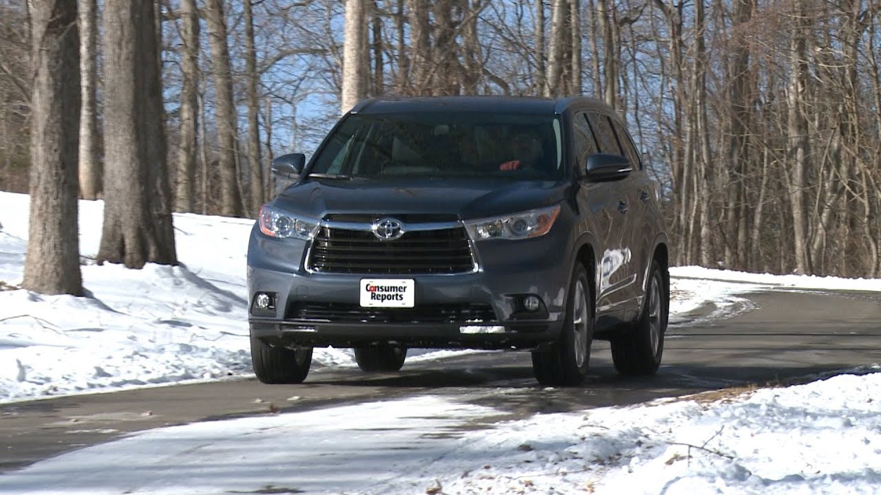 Talking Cars With Consumer Reports 29 Toyota Highlander And Suv Crash Tests You