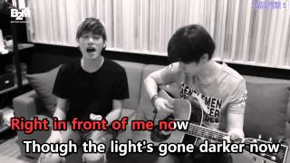 [KTV] Eric Nam - Eyes, Nose, Lips (English Acoustic Cover Ver.)