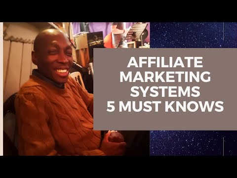 Affiliate Marketing System - 5 Things You Need To Profit With An Affiliate System thumbnail