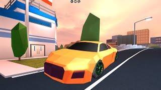 NEW CAR in ROBLOX JAILBREAK UPDATE!!