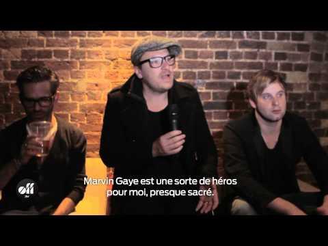 Parov Stelar en interview pendant son concert à Londres