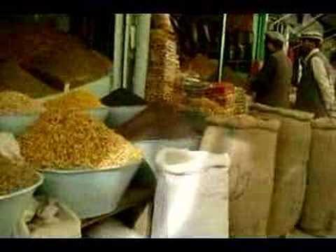 kabul's dry fruit market