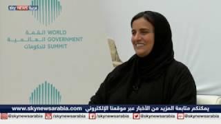 مقابلة مع وزيرة الدولة للتسامح الشيخة لبنى القاسمي