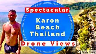 Karon Beach Phuket 2019 (Thailand Drone View)