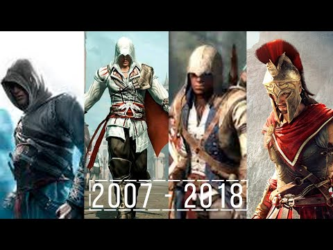 Эволюция серии игр Assassin's Creed | 2007 - 2018