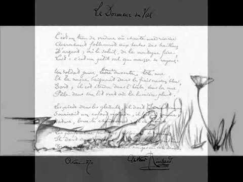 Rimbaud arthur le dormeur du val youtube - Le dormeur du val rimbaud ...