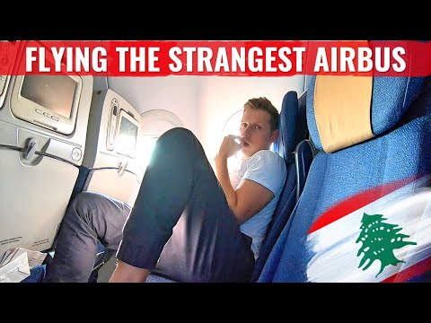 Review: LEBANESE MIDDLE EAST AIRLINES - THE AIRBUS WITH NO GALLEY!