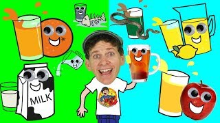 What Do You Want To Drink? Song for Kids | Food Song | Learn English Kids