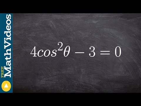 Pc Unit 5   Learn how to find all the solutions to a trigonometric equation