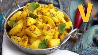 Jeera Aloo (Potatoes with Cumin) | The Vegan Corner