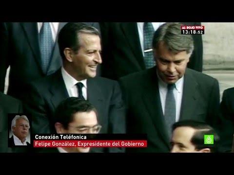 """Adolfo Suárez - Felipe González: """"El fallecimiento de Suárez merece una reflexión sosegada"""""""