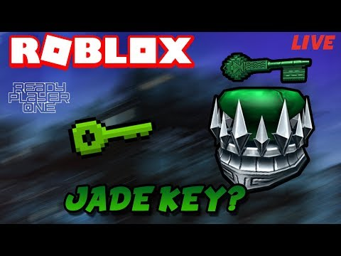 Roblox Livestream| FINDING THE JADE KEY|Roblox Ready Player One|Come help!