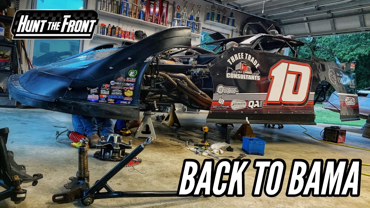 Missing Parts and Front-End Repairs! Another Alabama Super Late Model Race