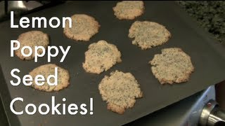 Lemon Poppy Seed Cookies (grain-free, Gluten-free, Vegan)