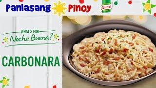 Carbonara Recipe Filipino Style / Panlasang Pinoy