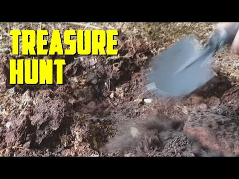 TREASURE HUNT IN REAL LIFE!