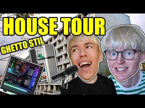 HOUSE TOUR (VORES STUDIE SETUP)