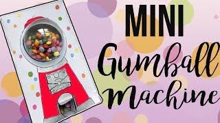 REAL Mini Gumball Machine - DIY - w/ stencils