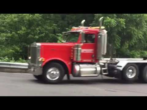 B Blair Corp truck convoy Anthony Maggeo