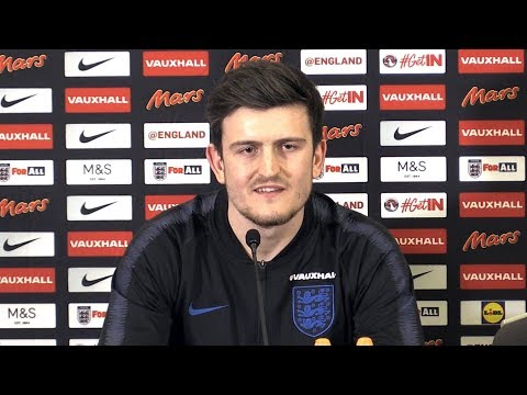 Harry Maguire Press Conference - Speaks To The Press Ahead Of England's Friendlies