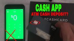 ✅  Can You Deposit Cash At ATM Into Cash App?  ?