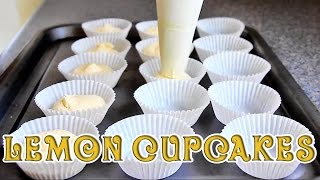 How To Make Super Easy Lemon Cupcakes