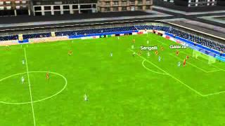 "Real Sociedad""B"" vs Osasuna""B"" - Odriozola Goal 41 minutes"