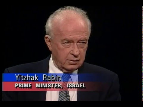a biography of yitzhak rabin